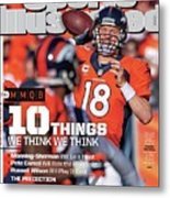 New Jersey Bound Super Bowl Xlviii Preview Issue Sports Illustrated Cover Metal Print