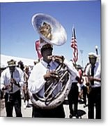 New Orleans Marching Band Metal Print