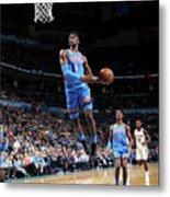 New Orleans Pelicans V Oklahoma City Metal Print