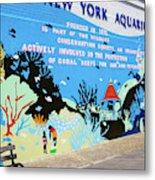 New York Aquarium, Coney Island, Brooklyn, New York Metal Print
