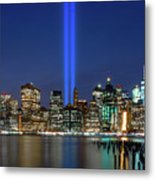 New York City 9/11 Commemoration  Metal Print