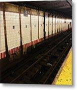 New York City Subway Line Metal Print