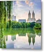 New York City, Usa At The Central Park Metal Print
