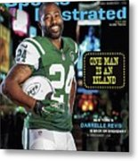 New York Jets Darrelle Revis Sports Illustrated Cover Metal Print