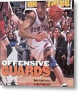 New York Knicks John Starks, 1994 Nba Eastern Conference Sports Illustrated Cover Metal Print