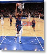 New York Knicks V Charlotte Hornets Metal Print