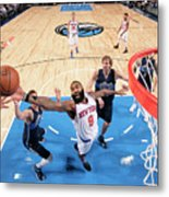 New York Knicks V Dallas Mavericks Metal Print