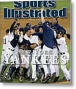 New York Yankees, 2009 World Series Sports Illustrated Cover Metal Print