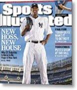 New York Yankees Cc Sabathia Sports Illustrated Cover Metal Print