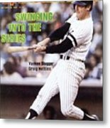 New York Yankees Graig Nettles, 1981 Al Championship Series Sports Illustrated Cover Metal Print