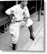 New York Yankees Lou Gehrig Metal Print