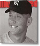 New York Yankees Mickey Mantle Sports Illustrated Cover Metal Print