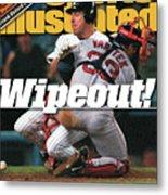 New York Yankees Scott Brosius, 1999 American League Sports Illustrated Cover Metal Print