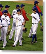 New York Yankees V Texas Rangers, Game 2 Metal Print