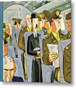 New Yorker September 18th 1943 Metal Print