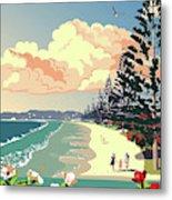 New Zealand Orewa Beach Metal Print