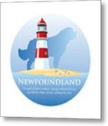 Newfoundland Pride Metal Print