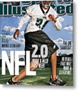 Nfl 2.0 Inside A Wild First Week Sports Illustrated Cover Metal Print