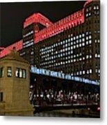 Night City Colors Metal Print