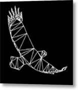 Night Eagle Metal Print
