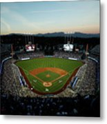 Nlcs - Chicago Cubs V Los Angeles Metal Print