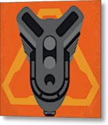 No1075 My Doom Minimal Movie Poster Metal Print