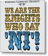 No11 My Silly Quote Poster Metal Print