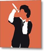 No223 My Bruno Mars Minimal Music Poster Metal Print
