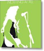 No276 My Alison Krauss Minimal Music Poster Metal Print