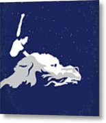 No975 My The Neverending Story Minimal Movie Poster Metal Print
