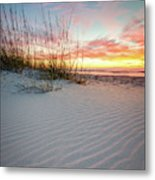 North Beach Dunes Metal Print