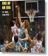 North Carolina State David Thompson, 1974 Ncaa Semifinals Sports Illustrated Cover Metal Print