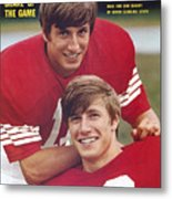 North Carolina State University Don And Dave Buckey Sports Illustrated Cover Metal Print