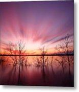 North Carolina Sunset Metal Print