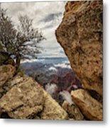 North Rim Fog 1 - Grand Canyon National Park - Arizona Metal Print