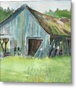 Northern State Farm, Skagit Valley Metal Print