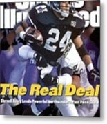 Northwestern University Darnell Autry Sports Illustrated Cover Metal Print