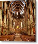 Notre Dame Cathedral Ottawa Metal Print