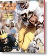 Notre Dame Vagas Ferguson... Sports Illustrated Cover Metal Print