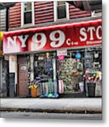 Ny 99 Cent Store Brooklyn  Metal Print