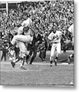 N.y. Mets Defeat The Baltimore Orioles Metal Print