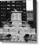 Nyc In Black And White Xiii Metal Print