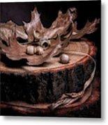 Oak Tree Still Life Metal Print