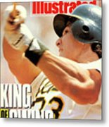 Oakland Athletics Jose Canseco Sports Illustrated Cover Metal Print