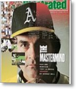 Oakland Athletics Manager Tony La Russa Sports Illustrated Cover Metal Print