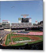 Oakland Athletics V Minnesota Twins Metal Print