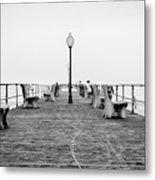 Ocean Grove Pier 1 Metal Print