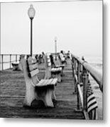 Ocean Grove Pier 2 Metal Print
