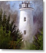 Ocracoke Light Metal Print