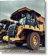 Off-highway Dump Trucks Metal Print